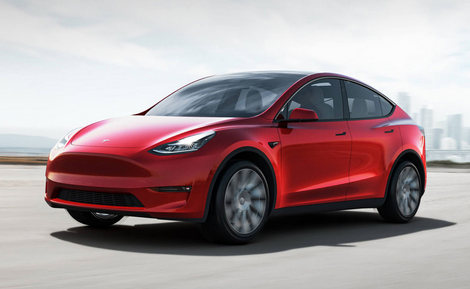 modelY front